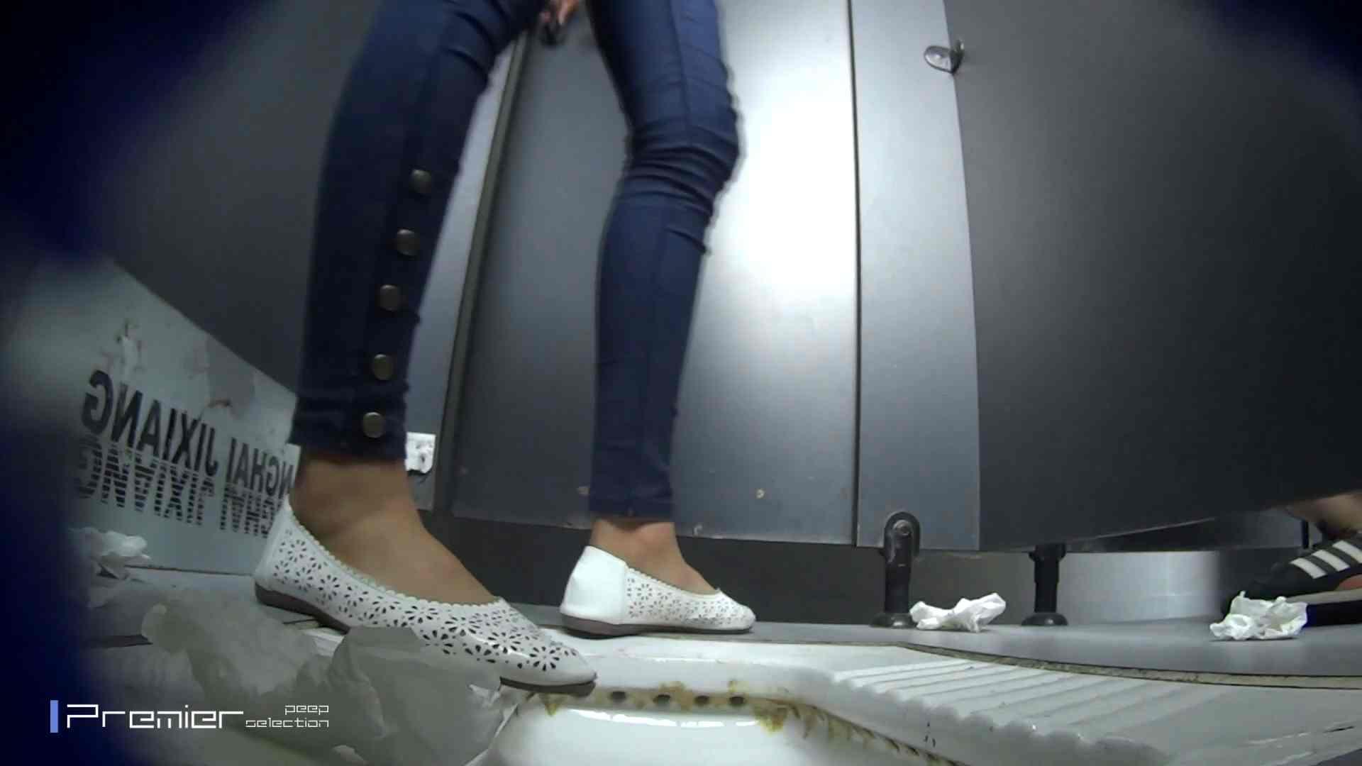 スキニージーンズの美女 大学休憩時間の洗面所事情56 盗撮映像  94Pix 3