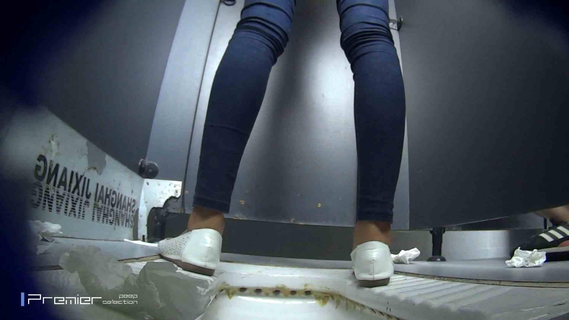 スキニージーンズの美女 大学休憩時間の洗面所事情56 盗撮映像  94Pix 35
