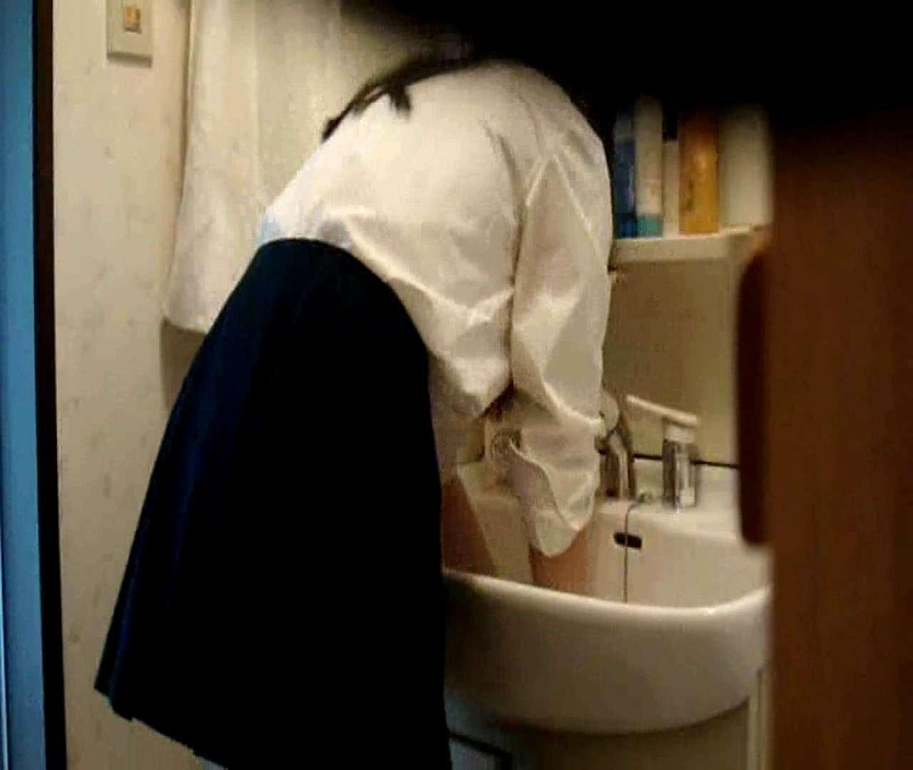 vol.5 まどかが帰宅後の洗顔後にブラを洗ってます。 OLハメ撮り  46Pix 4
