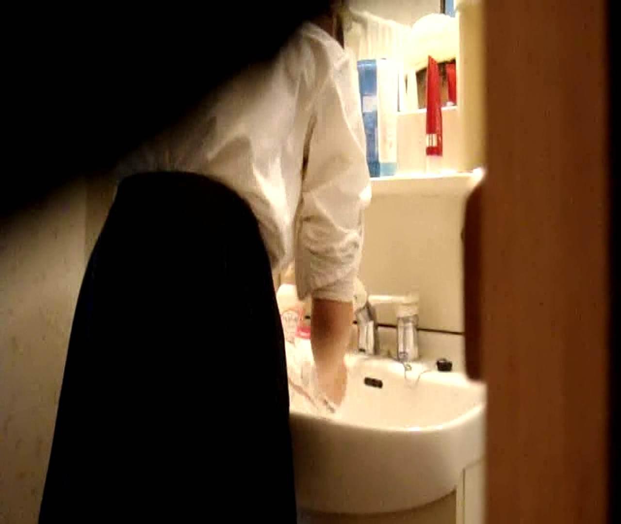 vol.5 まどかが帰宅後の洗顔後にブラを洗ってます。 OLハメ撮り  46Pix 21