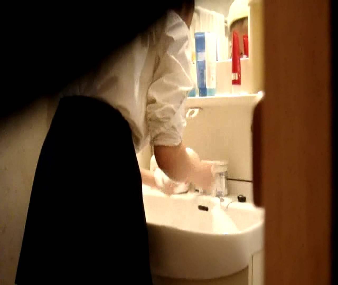 vol.5 まどかが帰宅後の洗顔後にブラを洗ってます。 OLハメ撮り  46Pix 22