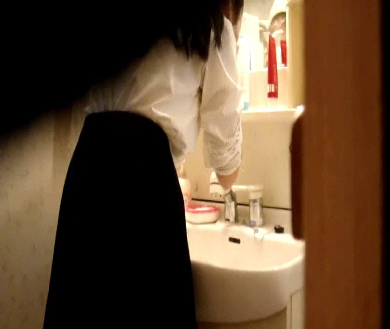 vol.5 まどかが帰宅後の洗顔後にブラを洗ってます。 OLハメ撮り  46Pix 24