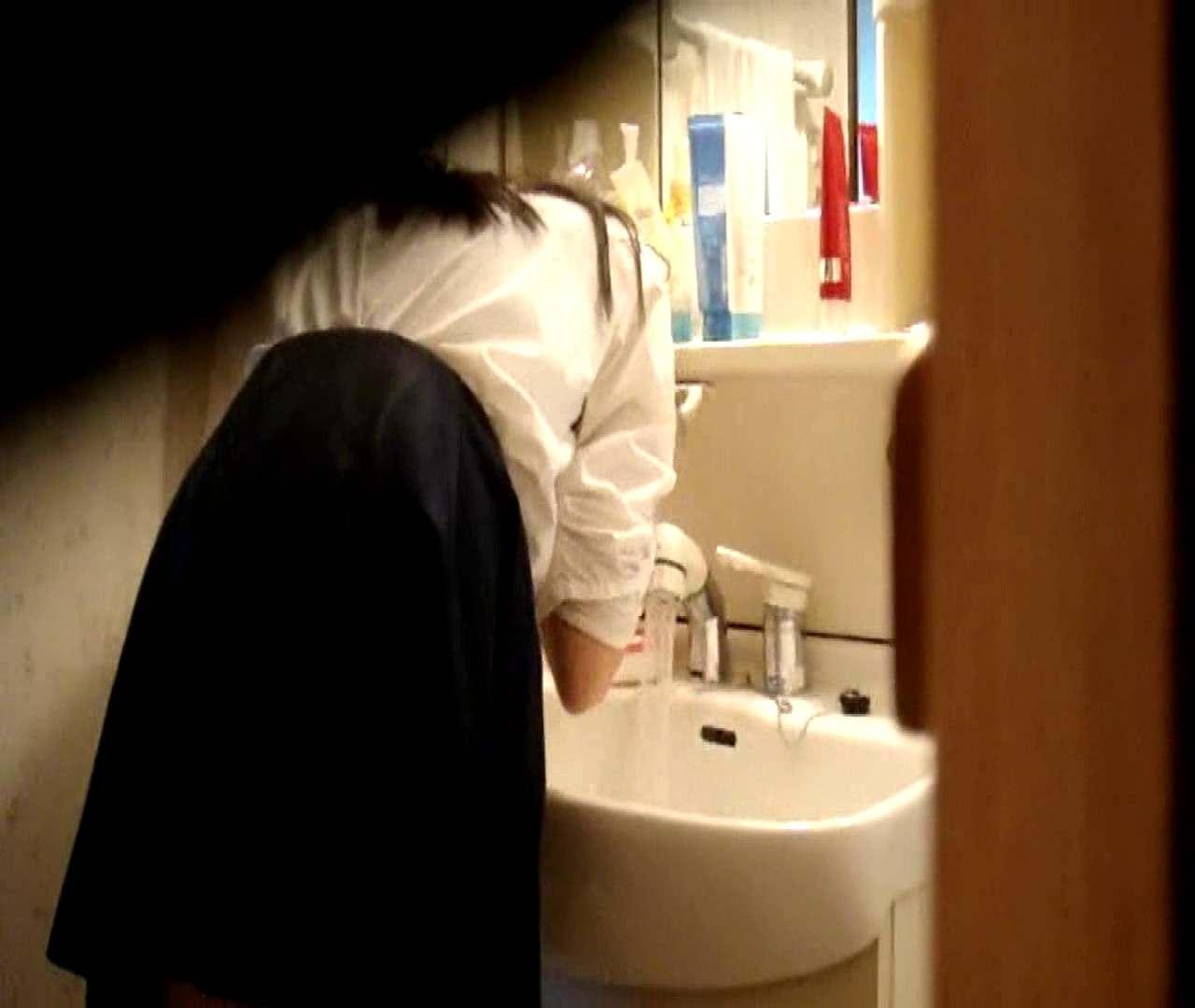 vol.5 まどかが帰宅後の洗顔後にブラを洗ってます。 OLハメ撮り  46Pix 28