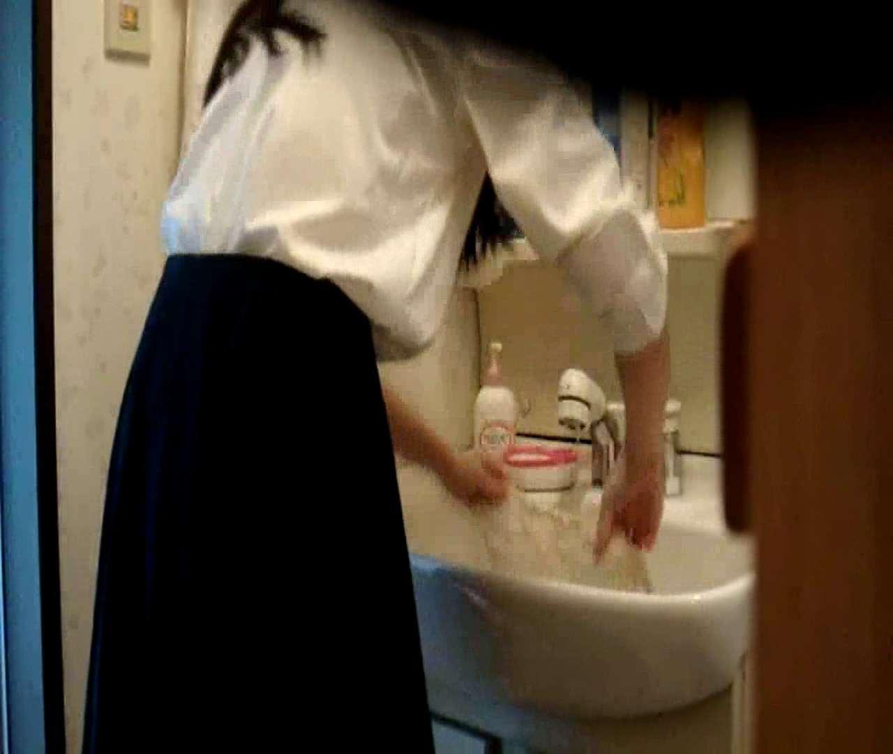 vol.5 まどかが帰宅後の洗顔後にブラを洗ってます。 OLハメ撮り  46Pix 38