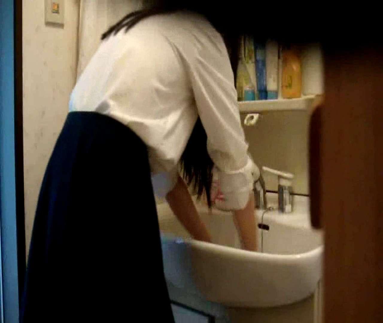 vol.5 まどかが帰宅後の洗顔後にブラを洗ってます。 OLハメ撮り  46Pix 42