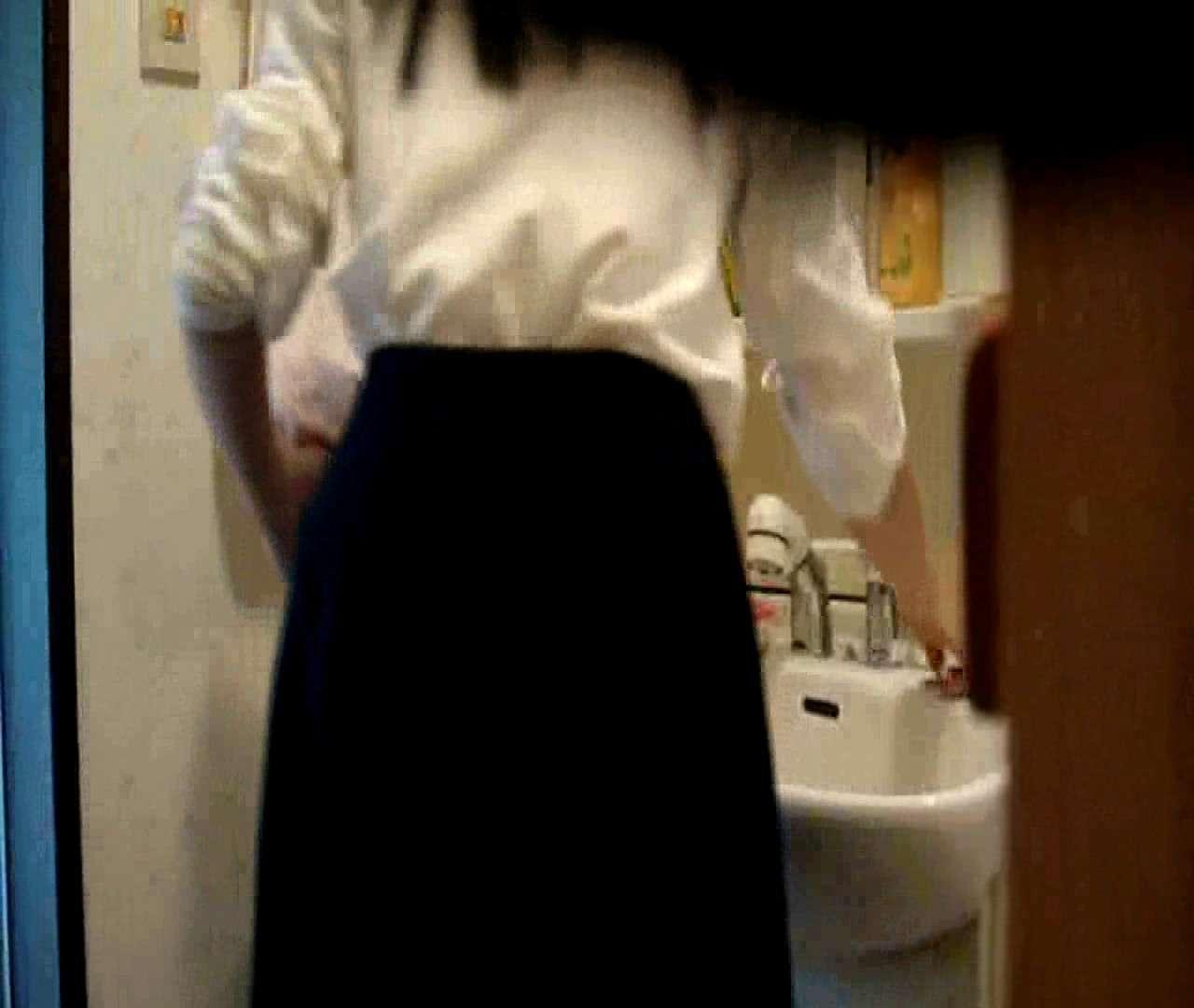 vol.5 まどかが帰宅後の洗顔後にブラを洗ってます。 OLハメ撮り  46Pix 45
