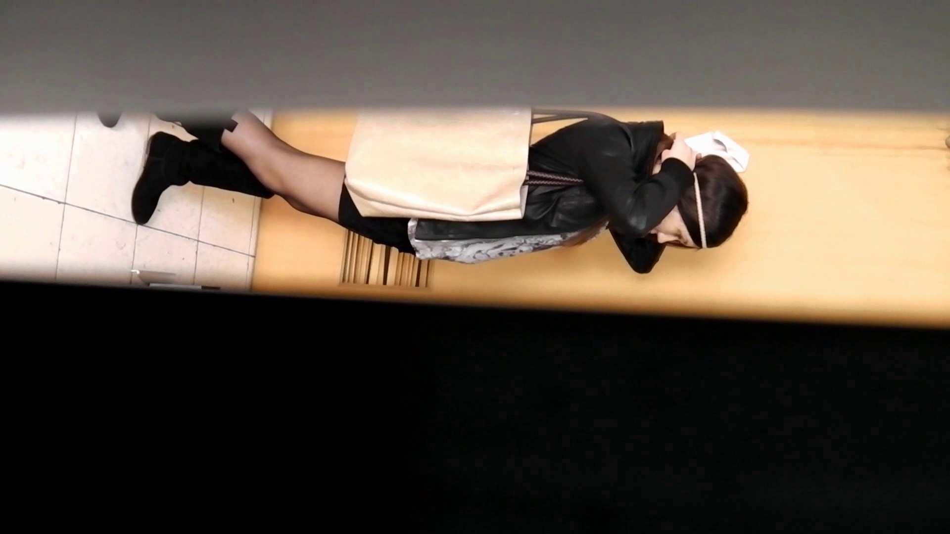 お銀さんの「洗面所突入レポート!!」 vol.54 エロすぎる捻り? OLハメ撮り  30Pix 8