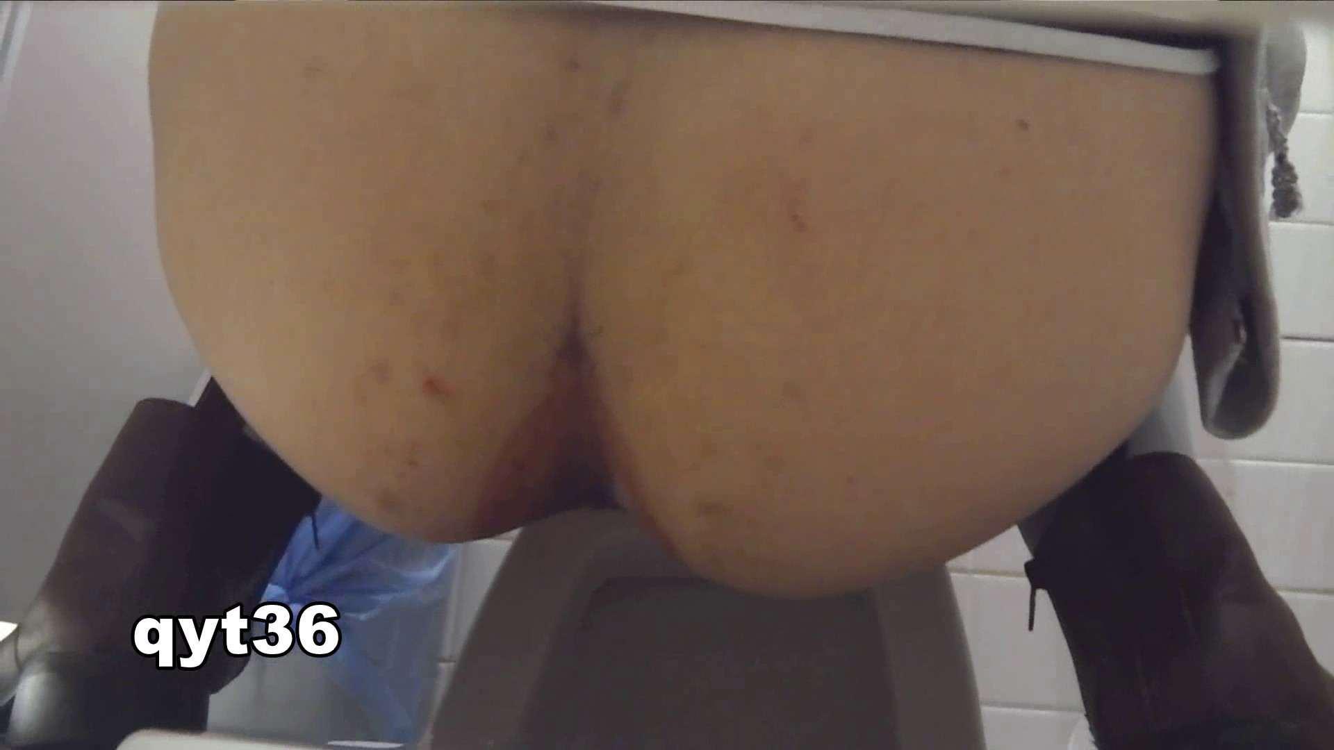 お銀さんの「洗面所突入レポート!!」 vol.36 腰のひねりには定評があります 洗面所  56Pix 13