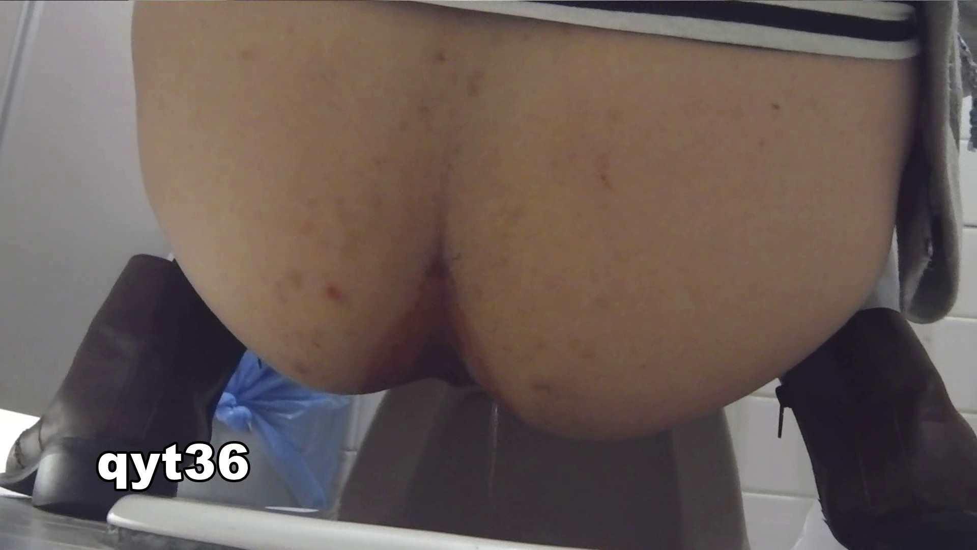 お銀さんの「洗面所突入レポート!!」 vol.36 腰のひねりには定評があります 洗面所  56Pix 15
