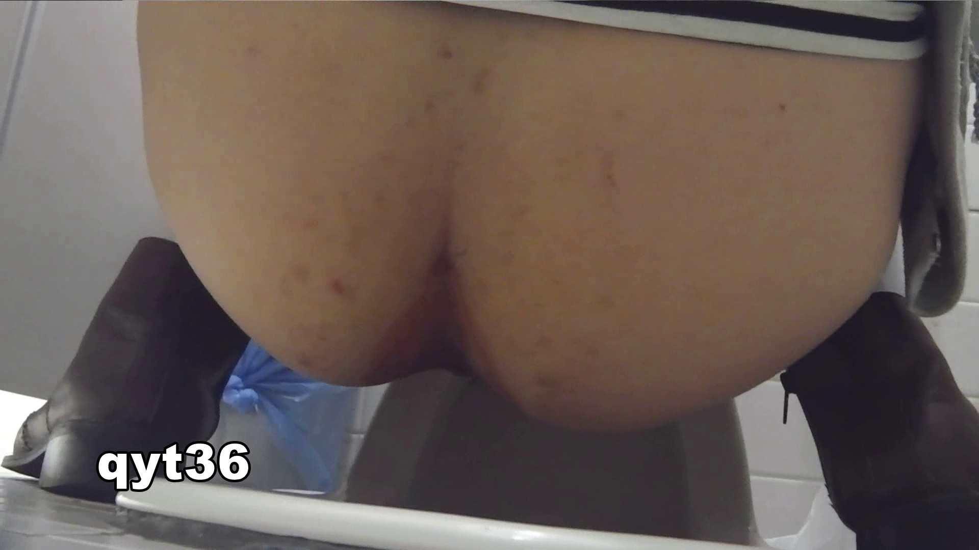 お銀さんの「洗面所突入レポート!!」 vol.36 腰のひねりには定評があります 洗面所  56Pix 16
