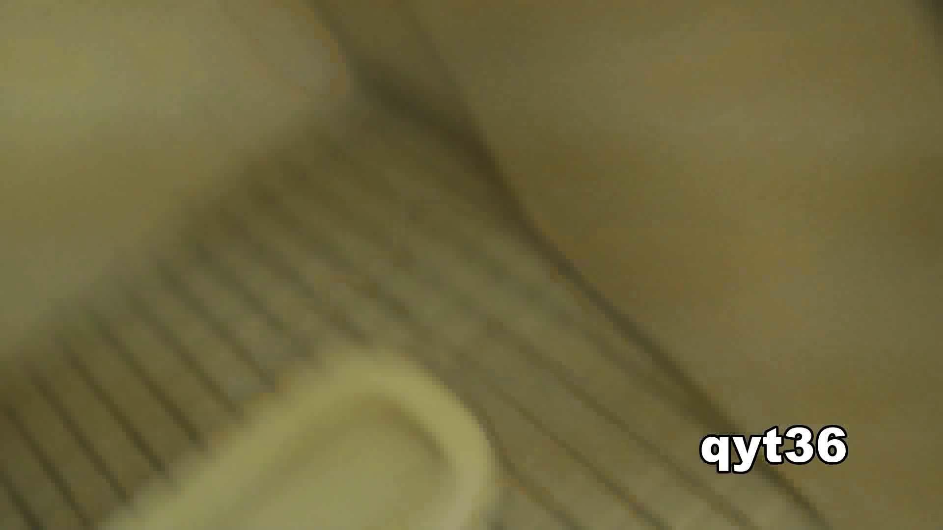 お銀さんの「洗面所突入レポート!!」 vol.36 腰のひねりには定評があります 洗面所  56Pix 40