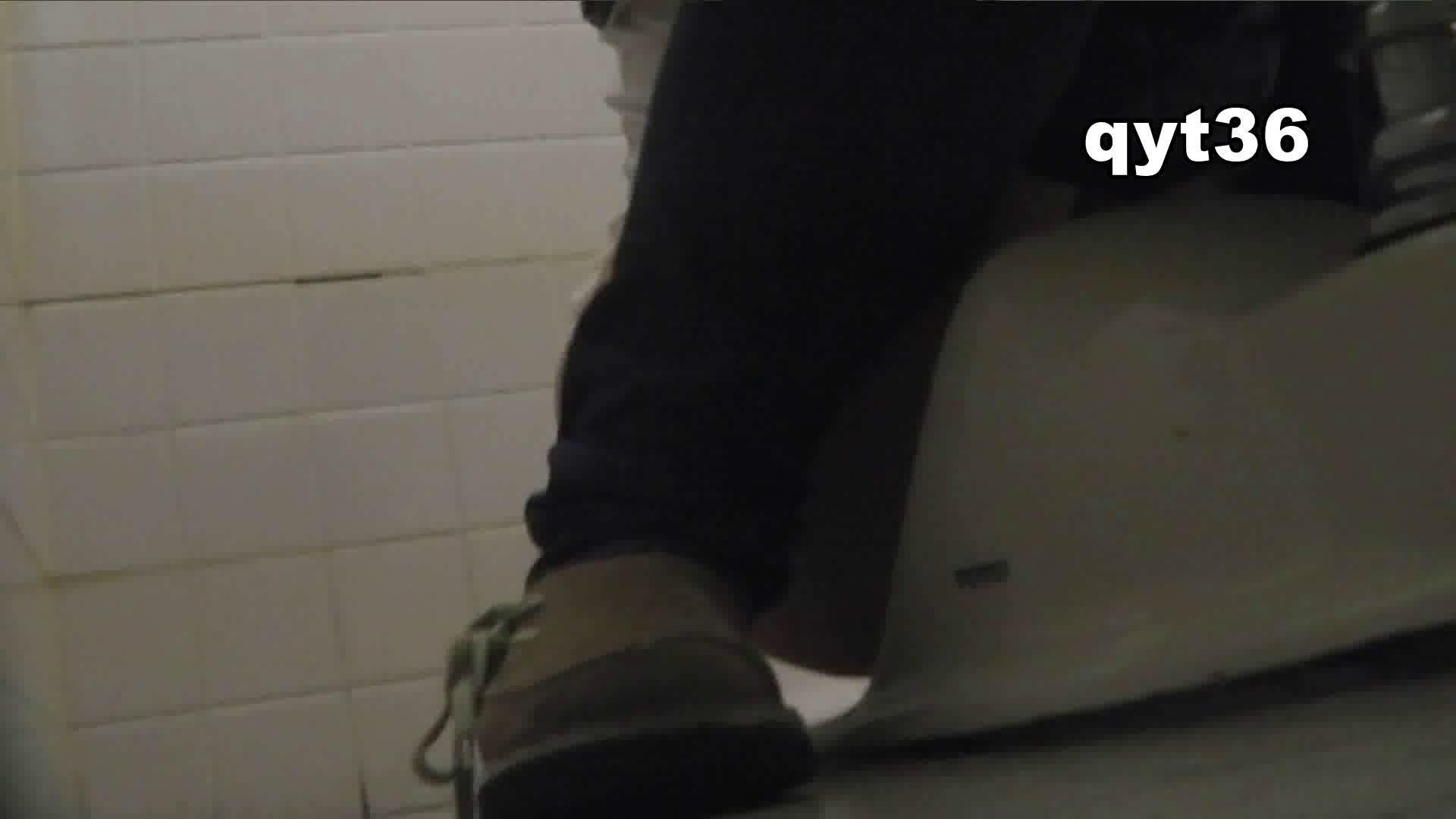 お銀さんの「洗面所突入レポート!!」 vol.36 腰のひねりには定評があります 洗面所  56Pix 45
