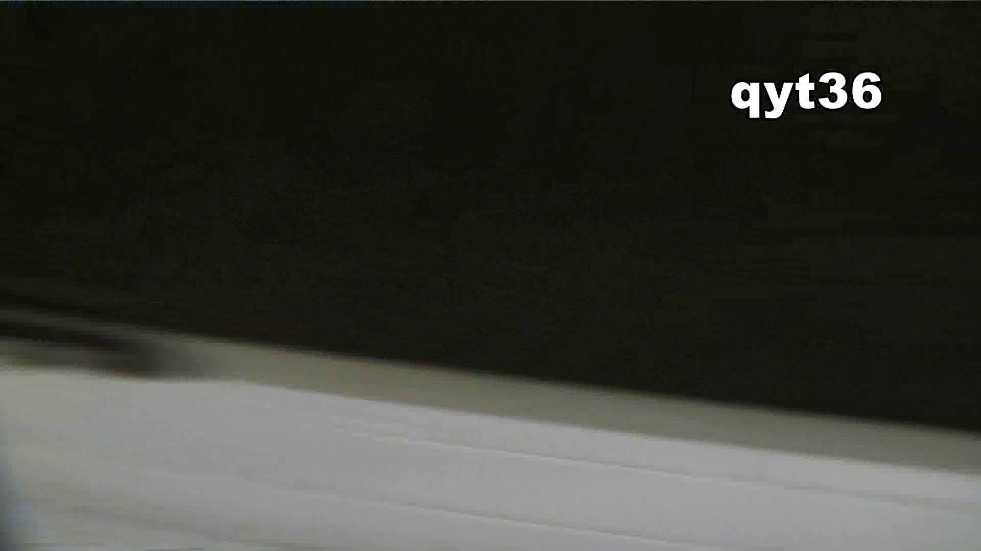 お銀さんの「洗面所突入レポート!!」 vol.36 腰のひねりには定評があります 洗面所  56Pix 53