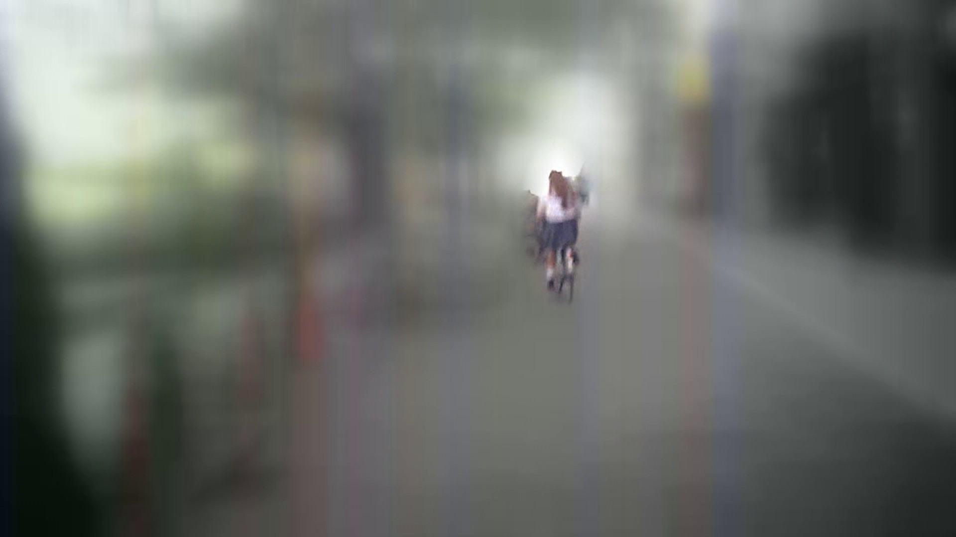 自転車パンチラ Vol.07 追跡  34Pix 12