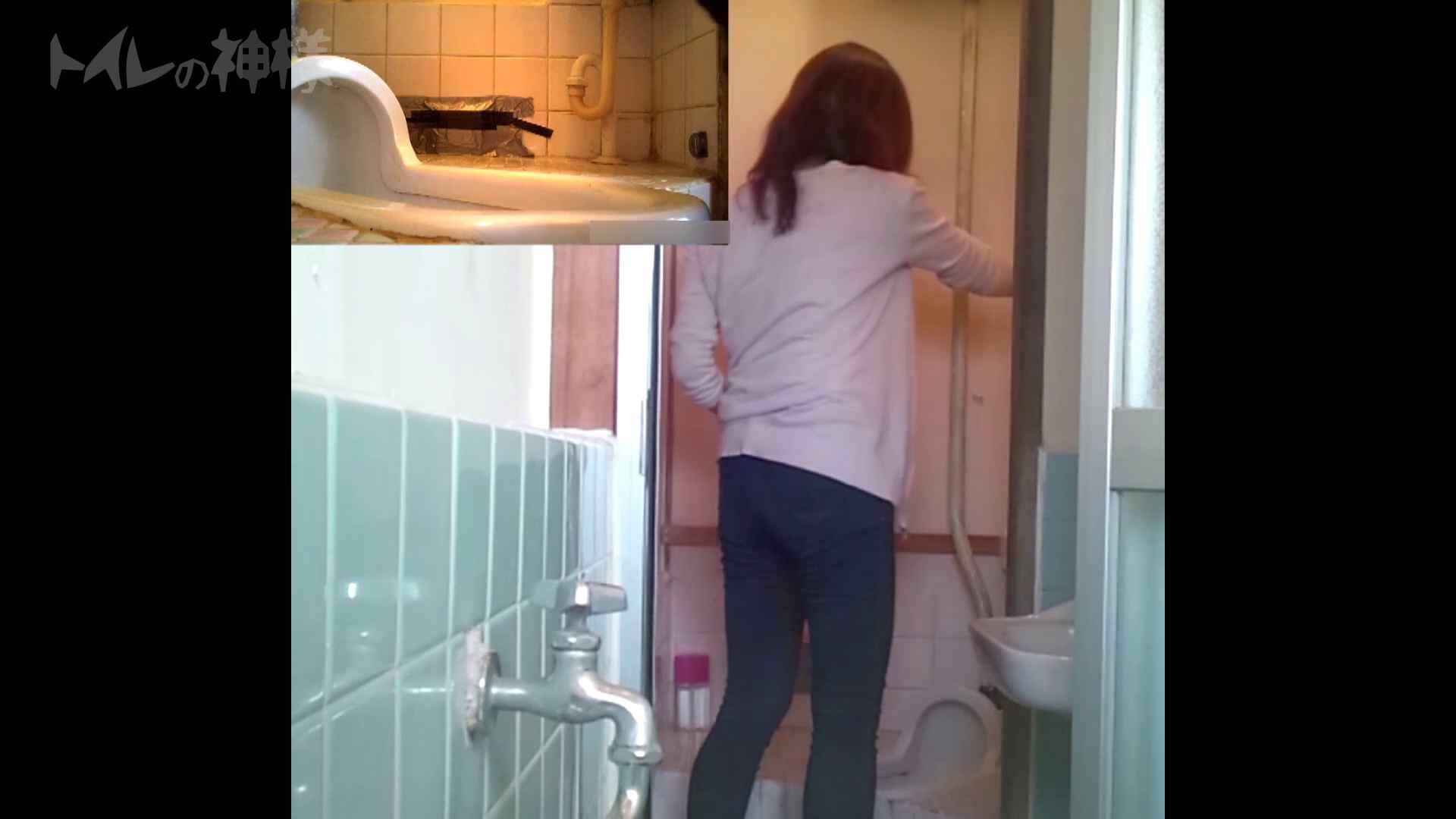 トイレの神様 Vol.07 検尿カップを持って・・・。 OLハメ撮り  28Pix 20