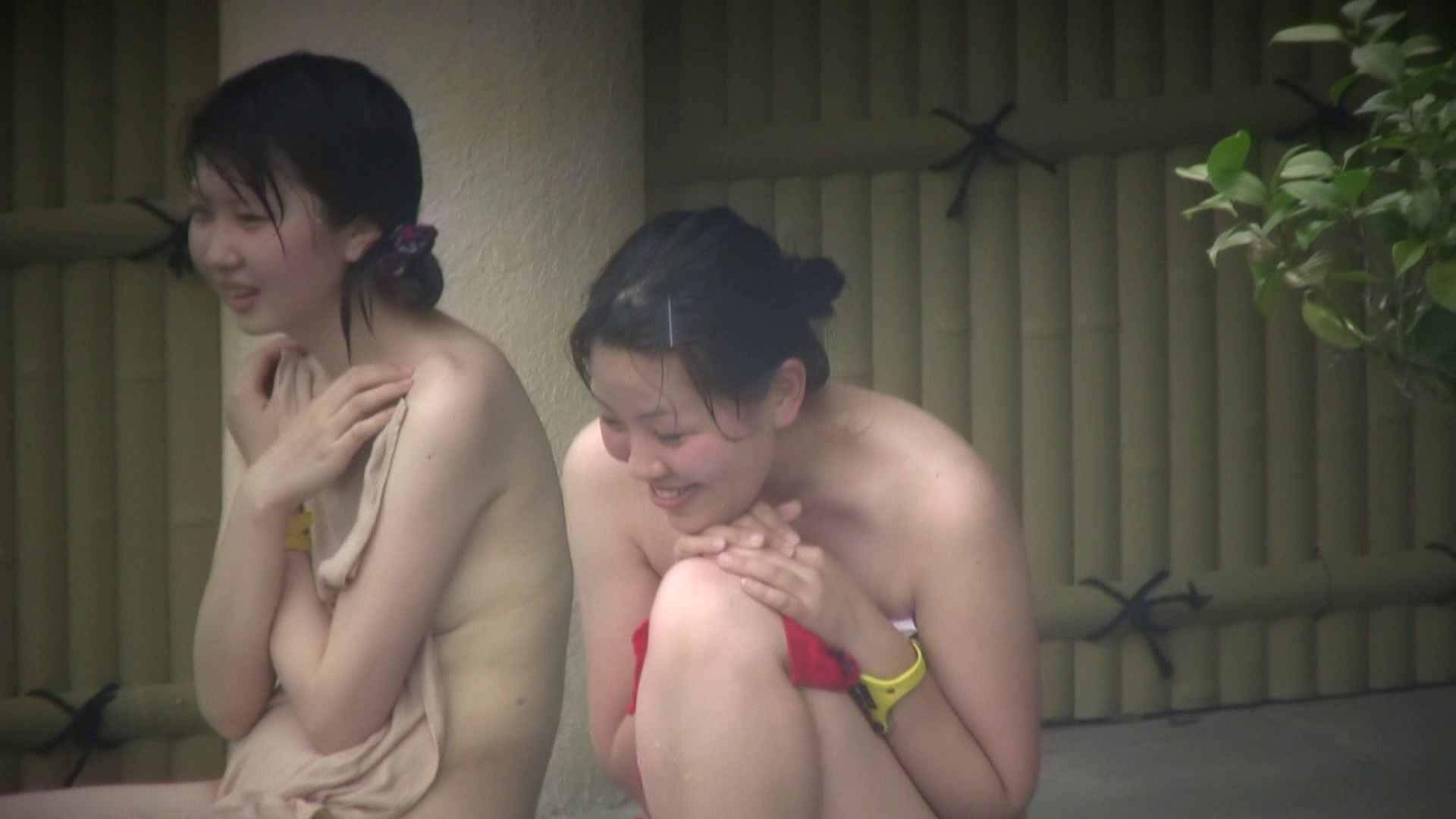 Aquaな露天風呂Vol.128 OLハメ撮り  113Pix 75