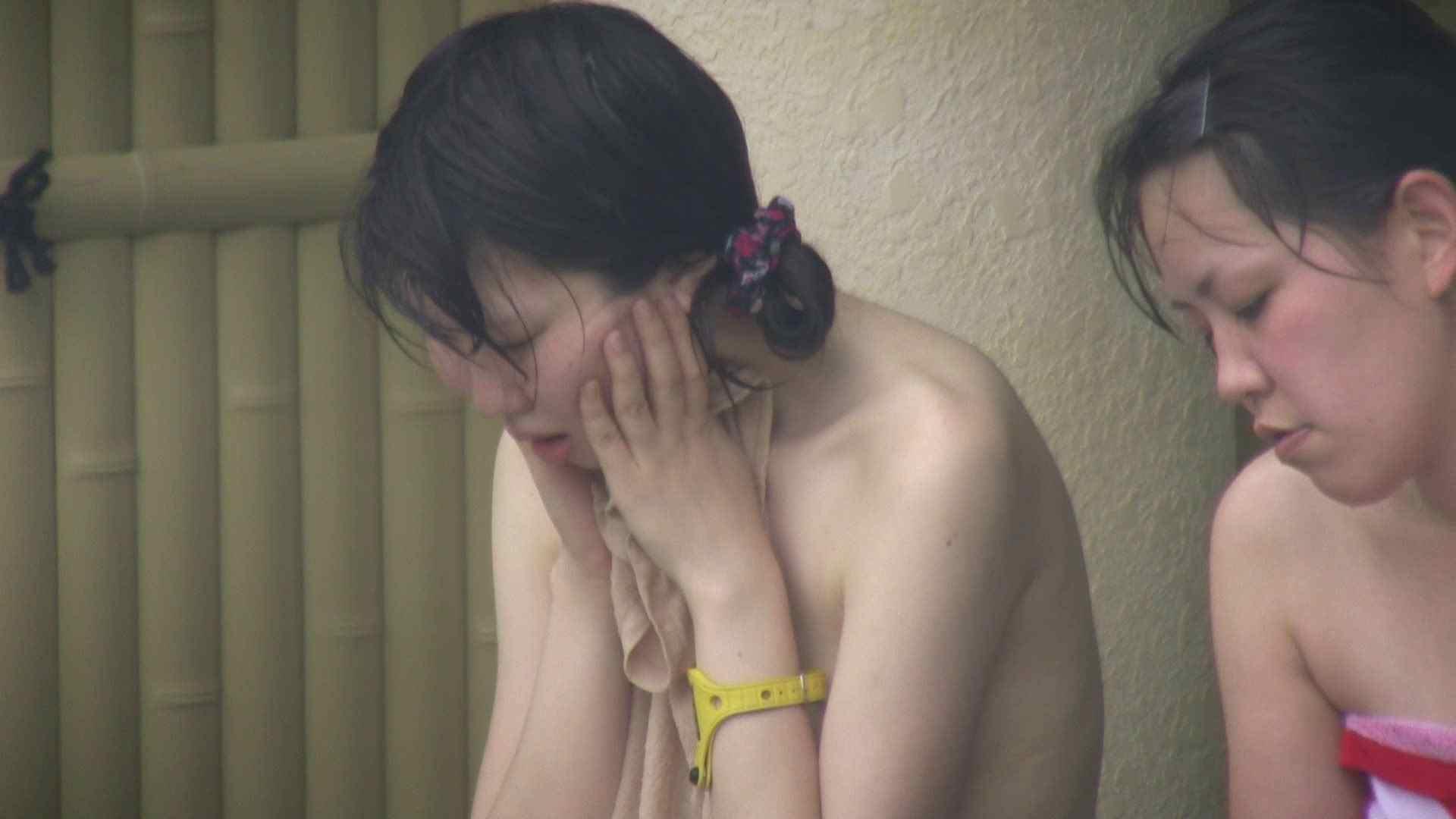 Aquaな露天風呂Vol.128 OLハメ撮り  113Pix 105