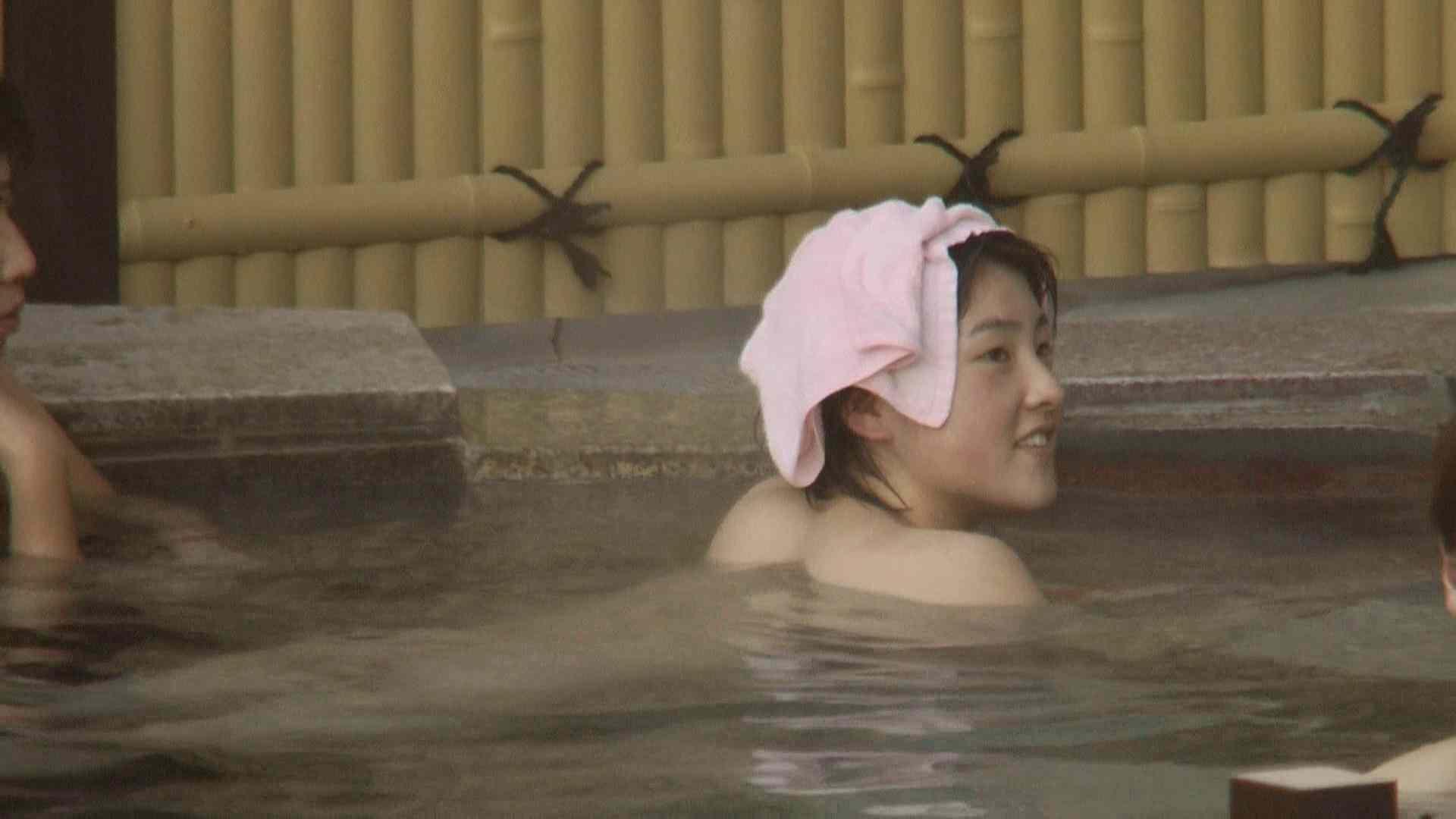 Aquaな露天風呂Vol.207 OLハメ撮り  26Pix 26