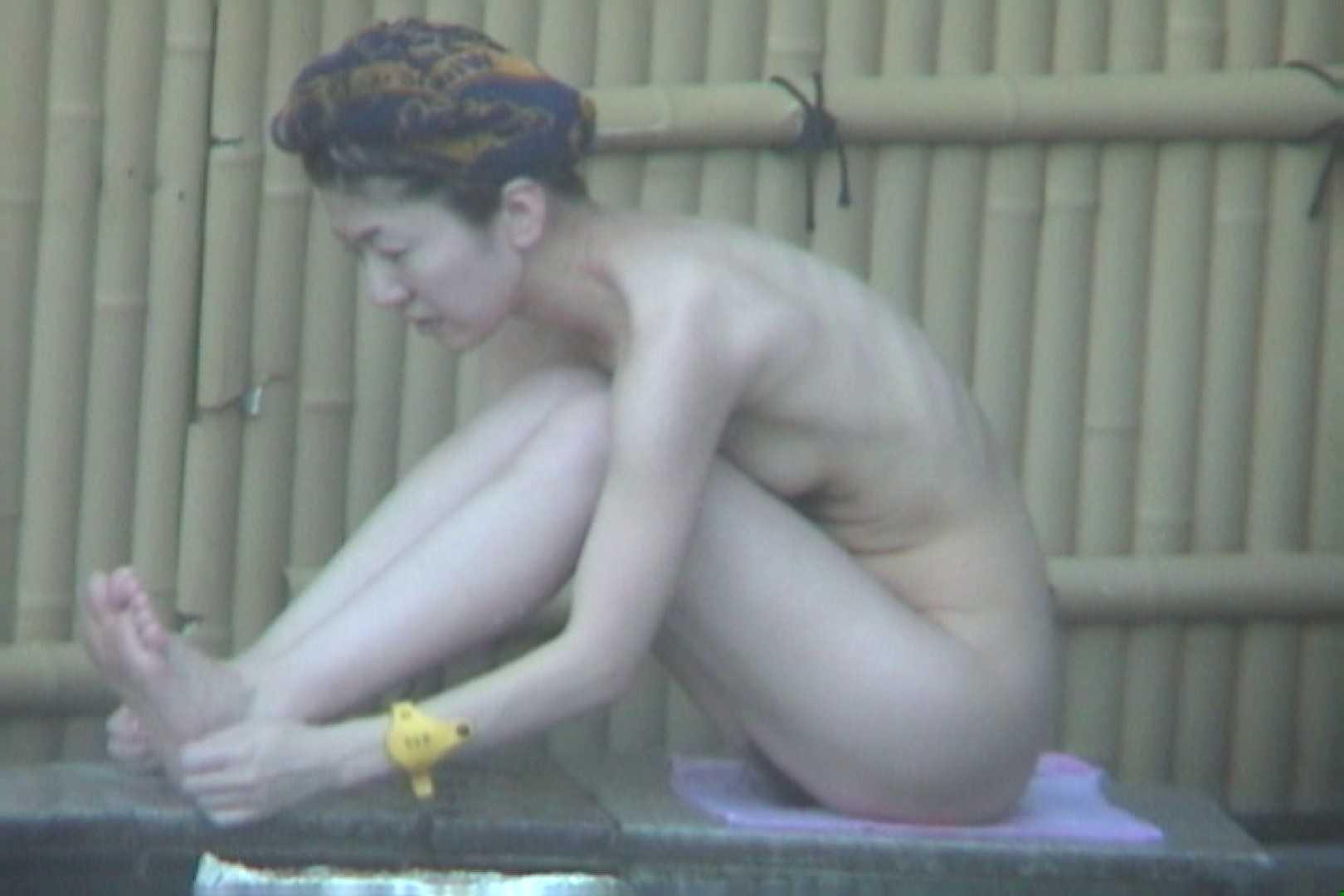 Aquaな露天風呂Vol.607 OLハメ撮り  58Pix 25