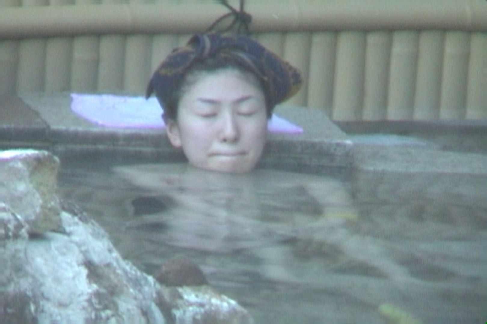 Aquaな露天風呂Vol.607 OLハメ撮り  58Pix 46
