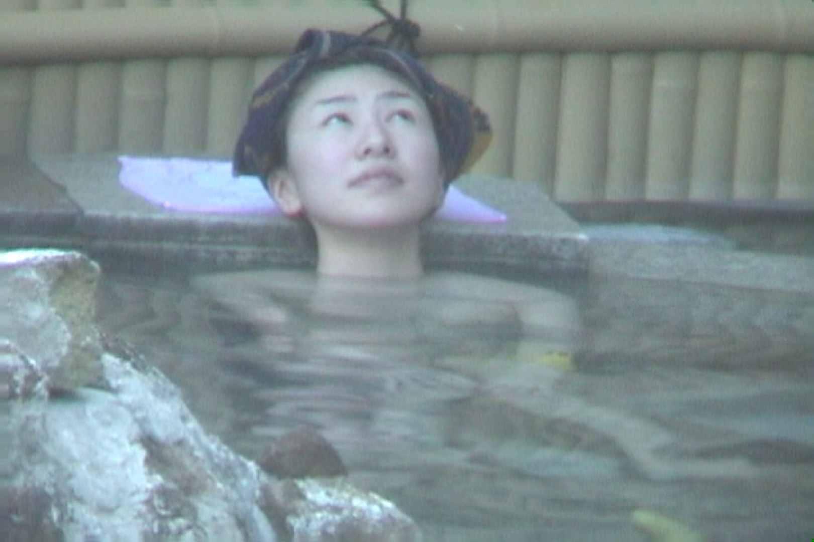 Aquaな露天風呂Vol.607 OLハメ撮り  58Pix 47