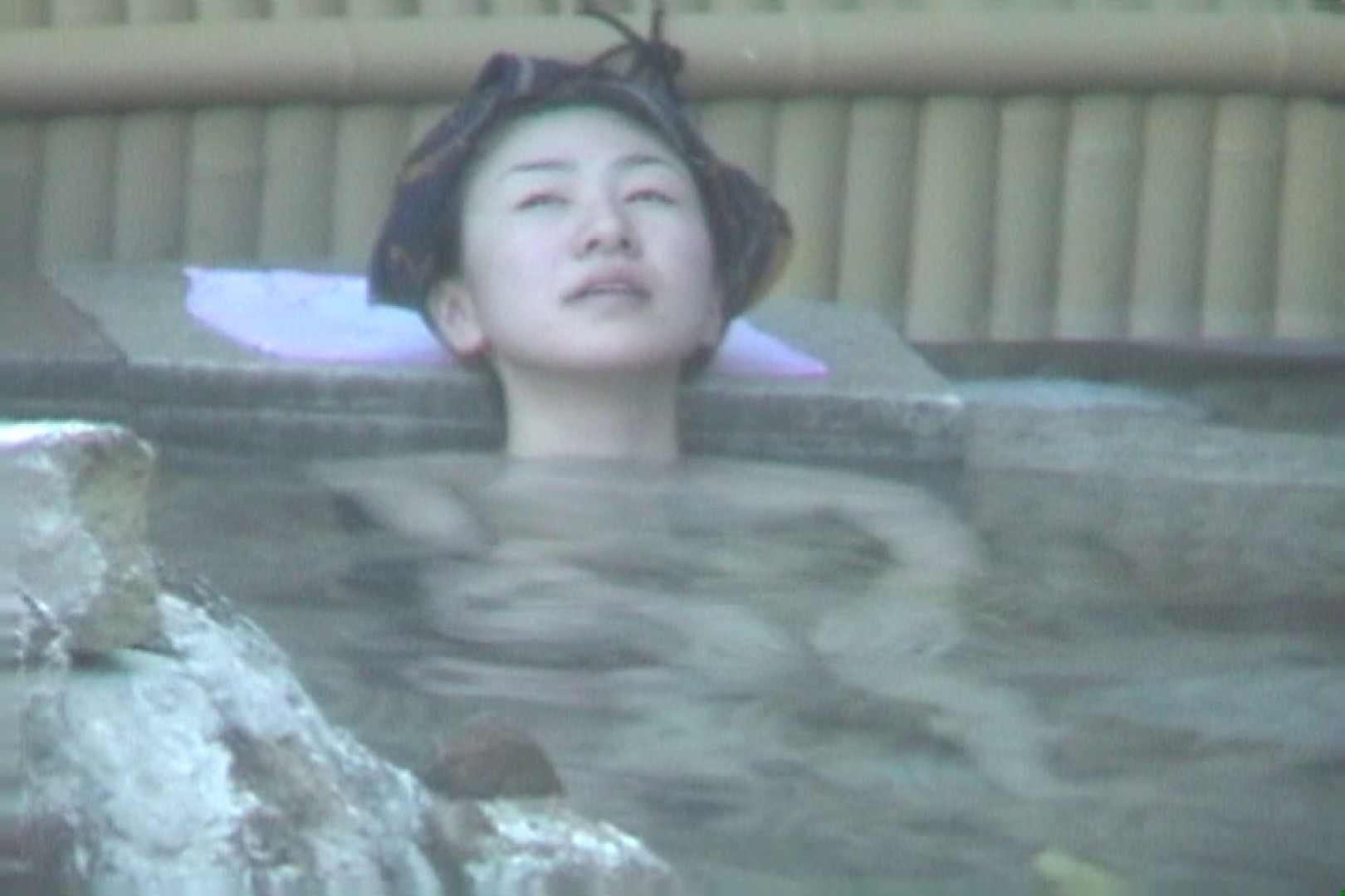 Aquaな露天風呂Vol.607 OLハメ撮り  58Pix 48