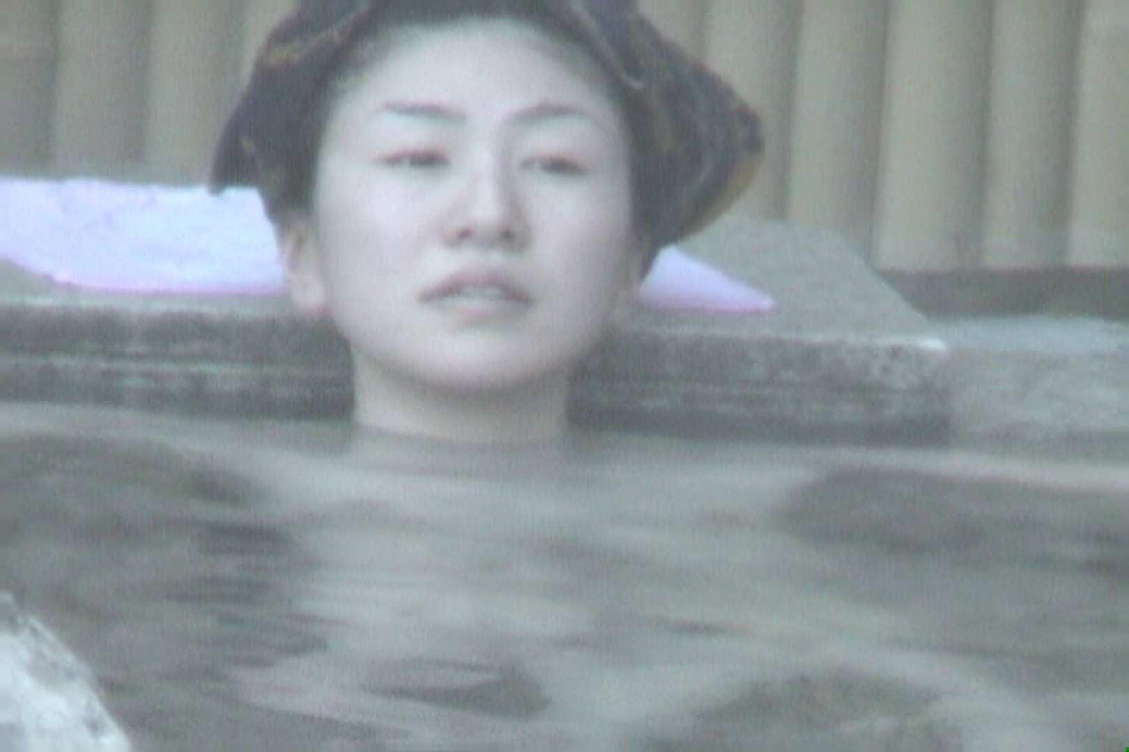 Aquaな露天風呂Vol.607 OLハメ撮り  58Pix 51