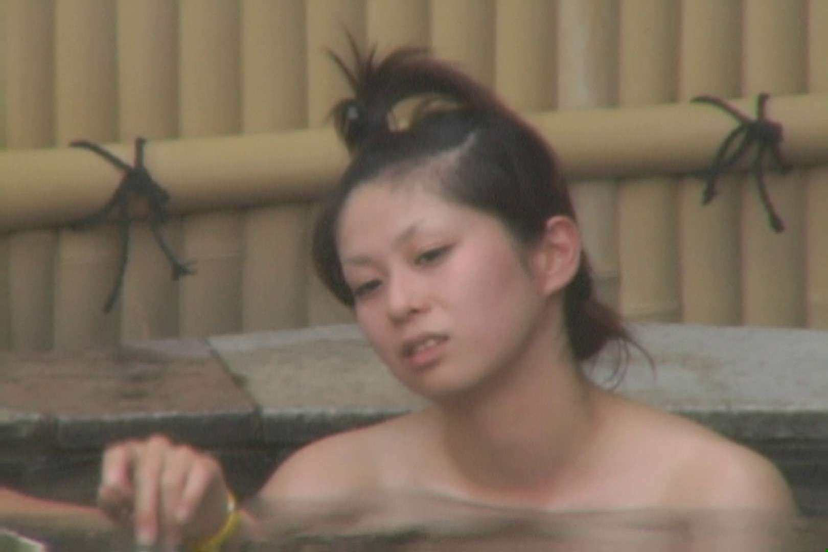 Aquaな露天風呂Vol.610 OLハメ撮り  74Pix 45