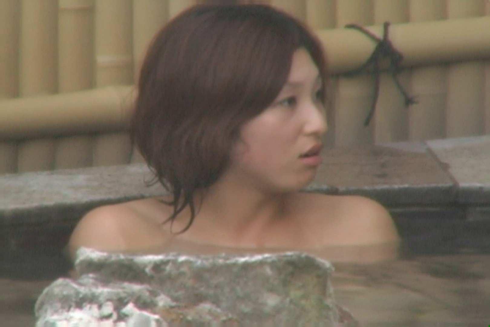 Aquaな露天風呂Vol.610 OLハメ撮り  74Pix 60