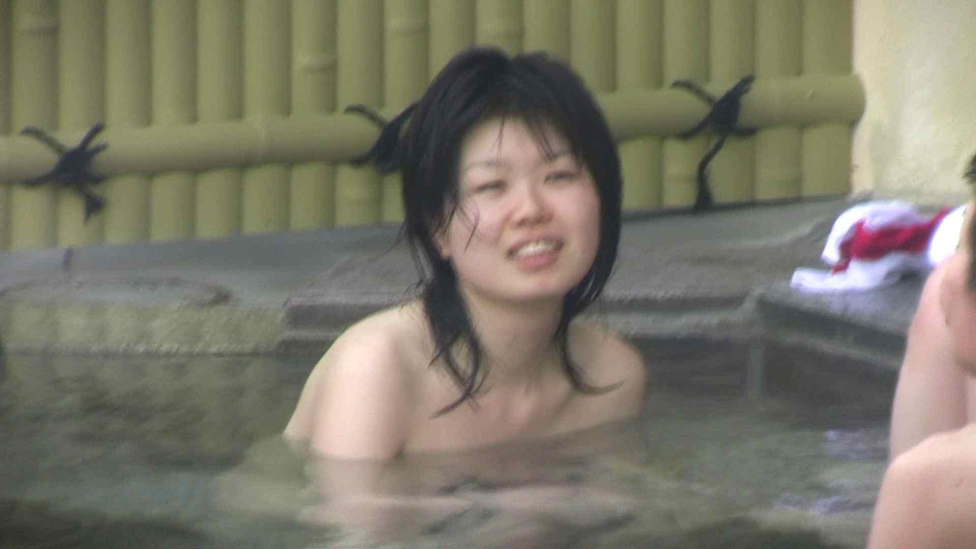 Aquaな露天風呂Vol.677 OLハメ撮り  56Pix 26