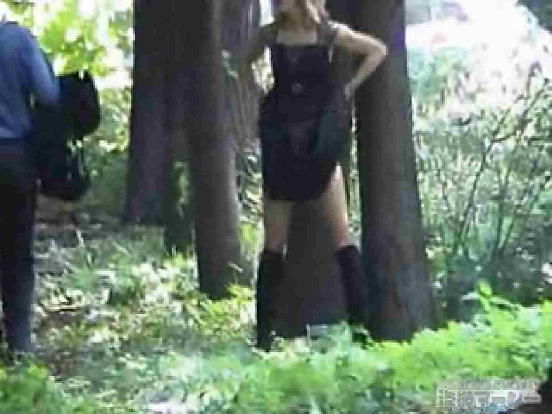 衝撃!ウエデイングドレスを着て野外発射!  盗撮映像  31Pix 30