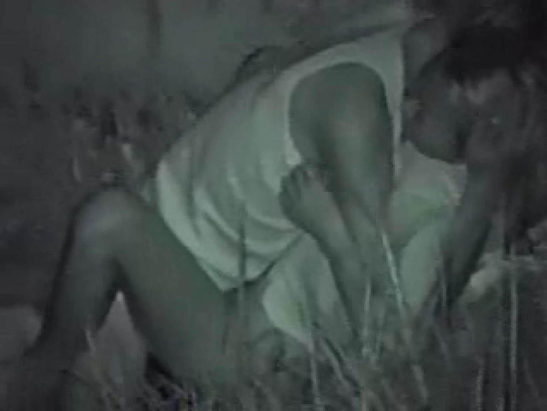 深夜密撮 公園カップル 赤外線  58Pix 24